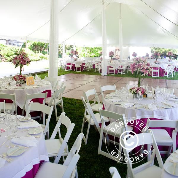 Tavoli pieghevoli e sedie pieghevoli per tutti i tuoi eventi